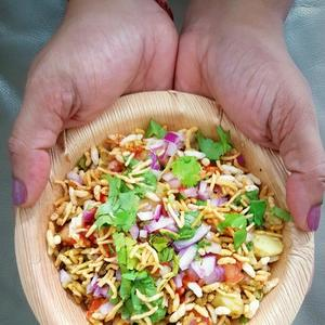 Easy Bhel Puri Poori Recipe Indian Street Food Recipes From Www