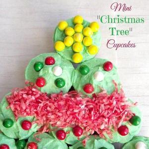 Mini Ldquo Christmas Tree Rdquo Cupcakes From Www Lifewithgarnish Com